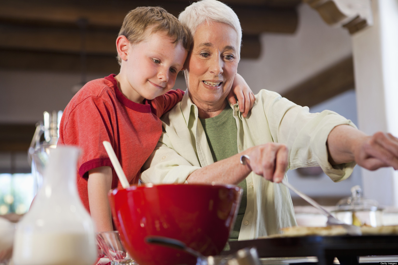 grandparents raising grandchildren Grandparents are an important resource for both parents and children.