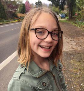 "Sylvie, age 10 Corvallis Waldorf School ""She makes the best pancakes."""